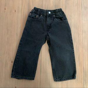 Levi's | Vintage Faded Black 566 Denim Jeans
